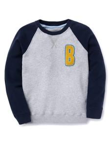 sweatshirt blue windchime